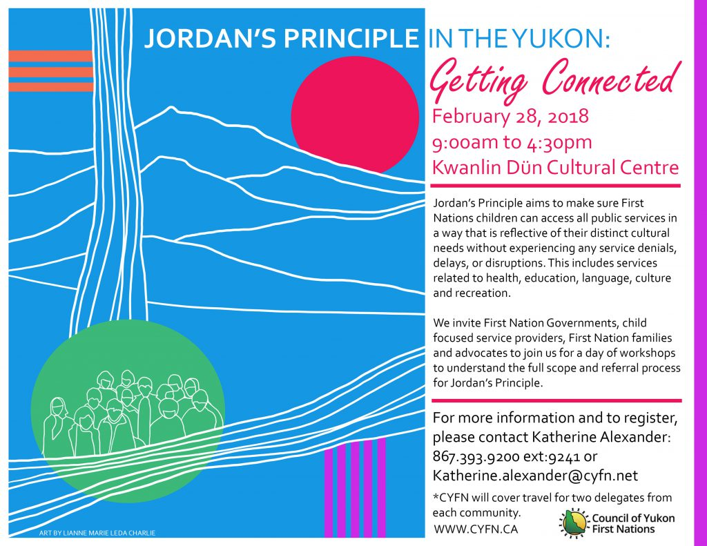 Language In 45 And 47 Stella Street: Jordan's Principle In The Yukon: Getting Connected